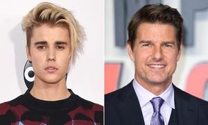 Justin Bieber tiếp tục gây sự với Tom Cruise