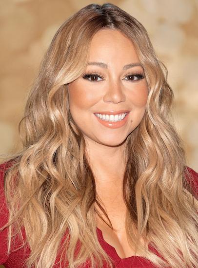 Nữ ca sĩ Mariah Carey. Ảnh:InStyle.