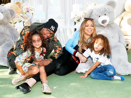 Mariah Carey và Nick Cannon vẫn làm bạn, cùng chăm sóc con sau khi ly hôn. Ảnh:US Weekly.