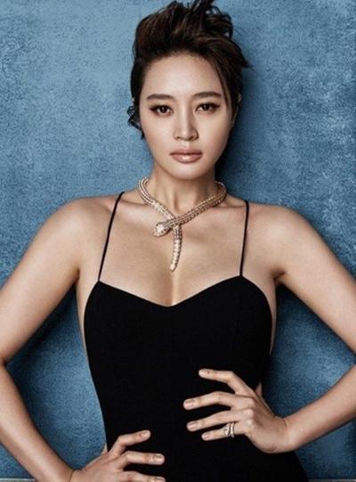 Diễn viên Kim Hye Soo.