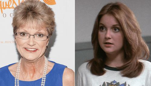 Denise Nickerson trước khi chết và khi còn làm diễn viên. Ảnh: IMDB.