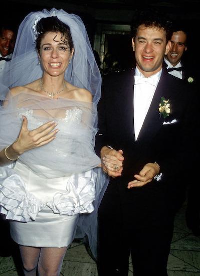 Cặp sao hẹn hò ba năm và đi đến hôn nhân vào tháng 4/1988. Theo Express UK, Tom cho biết: Tôi lúc đó 23 tuổi, đã có một đời vợ. Con trai Colin của tôi vừa bước sang tuổi thứ hai. Tôi rất lo lắng và không nghĩ mình sẵn sàng cưới Rita.