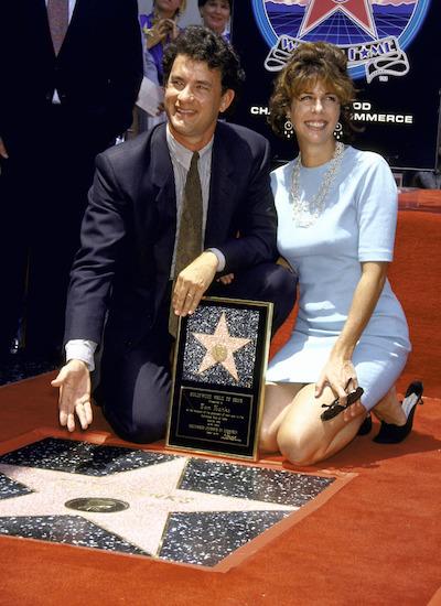Khi cưới, Tom Hank đang là cái tên triển vọng tại Hollywood. Ông dần trở thành ngôi sao tại kinh đô điện ảnh Mỹ với những vai diễn trong Dragnet, Big. Năm 1988, tài tử nhận đề cử Oscar nam chính xuất sắc đầu tiên. Năm 1992, Tom Hanks nhận ngôi sao trên Đại lộ Danh vọng Hollywood. Vợ cùng ông góp mặt trong buổi lễ.