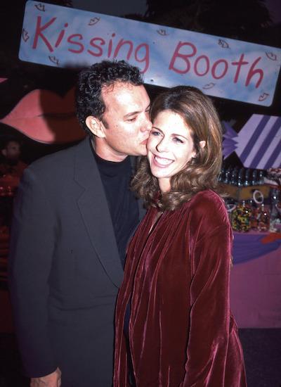 Cặp sao được yêu thích tại Hollywood, luôn xuất hiện tình tứ bên nhau. Rita là vợ và bạn thân nhất của tôi. Sau nhiều năm chung sống, vợ chồng vẫn có những đêm nằm tâm sự đến hai giờ sáng, như những ngày mới yêu, tài tử cho biết. Ảnh: REX.