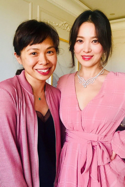 Hình ảnh mới nhất của Song Hye Kyo.
