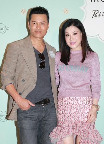 Nam diễn viên thường đi sự kiện cùng vợ - doanh nhân Dương Tiểu Quyên.