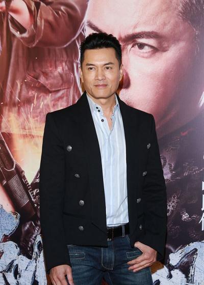 Nam diễn viên tại sự kiện hồi tháng 1. Trang Sina khen anh
