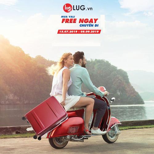 Khách hàng mua vali tại LUG có cơ hội trúng một trong bốn chuyến du lịch mùa hè này.