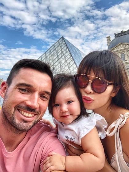 Vợ chồng Hà Anh đưa con gái một tuổi du ngoạn châu Âu - 5