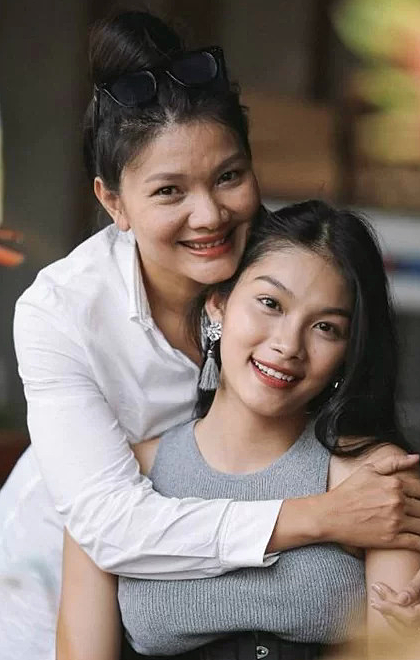 Kiều Trinh và con gái Thanh Tú. Ảnh: NVCC.