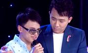 Trấn Thành khóc khi nghe chàng trai khiếm thị 17 tuổi hát