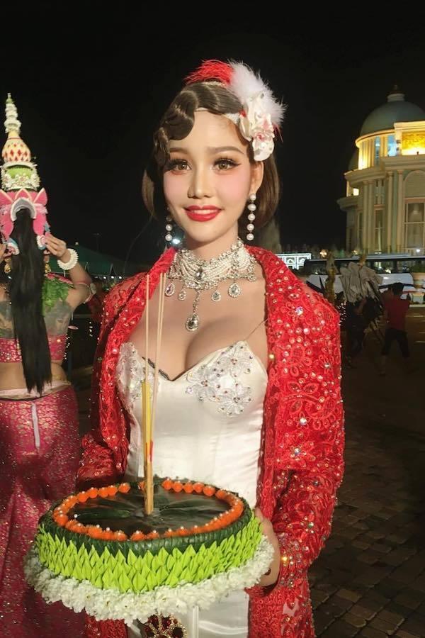 Người đẹp 27 tuổi đăng quang Hoa hậu Chuyển giới Thái Lan