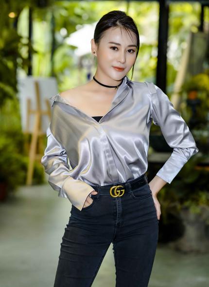 Diễn viên Phương Oanh.