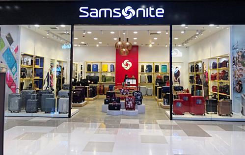 Cửa hàng Samsonite đẳng cấp và chuyên nghiệp.