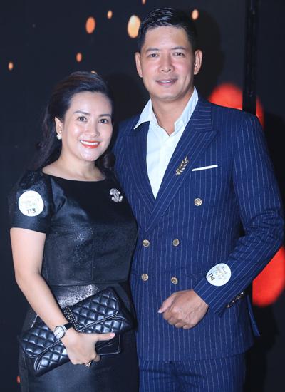 Vợ chồng diễn viên, MC Bình Minh.