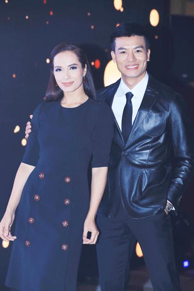 Chồng Hồ Hạnh Nhi dự sự kiện của hoa hậu Thu Hoài - page 2 - 1