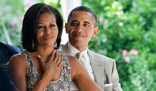 Vợ chồng cựu tổng thống Mỹ - Barack Obama và Michelle Obama. Ảnh: Instagram.