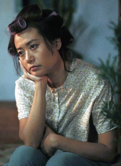 Tạo hình của Hồng Ánh trong phim.