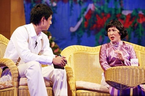 Hồng Vân ươm mầm cho nhiều tài năng kịch trẻ nhờ sân khấu của chị.
