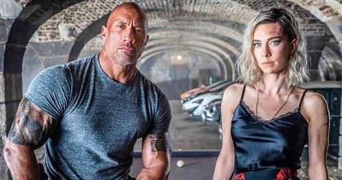 Trong video giới thiệu phim, Vanessa nói hứng thúcảnh chiến đấu với The Rock - sao cơ bắp lừng danh Hollywood. Ảnh: Universal.