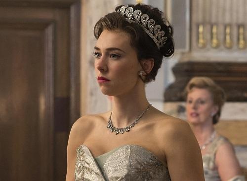 Vanessa Kirby trong The Crown. Ảnh: Netflix.