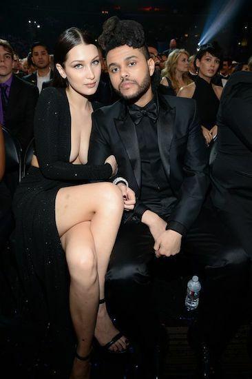 Bella Hadid và The Weeknd khi còn hẹn hò. Ảnh: Conmopolitan.