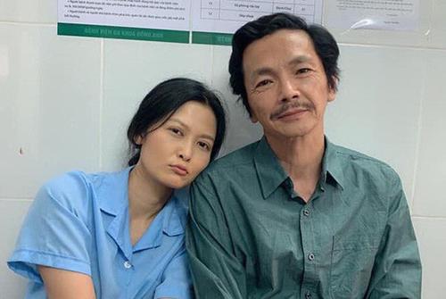 Cô Hạnh (Thuý Hà) và ông Sơn (Trung Anh).