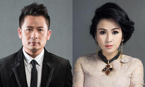 Ca sĩ Bằng Kiều (trái) và Thanh Lam.