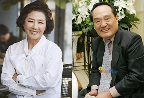 Diễn viên gạo cội Go Do Shim và Park In Hwan.