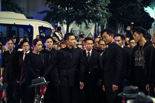 Bộ đôi Ảnh đế Hong Kong không có dấu hiệu sụt giảm phong độ trong diễn xuất.
