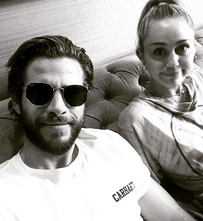 Tháng 7/2017, Liam Hemsworth đăng một bức ảnh đen trắng trên Instagram, anh gọi Miley Cyrus là thiên thần bé nhỏ. Trong một cuộc phỏng vấn hồi tháng 12/2017, Miley nói cô chưa có ý định tổ chức đám cưới
