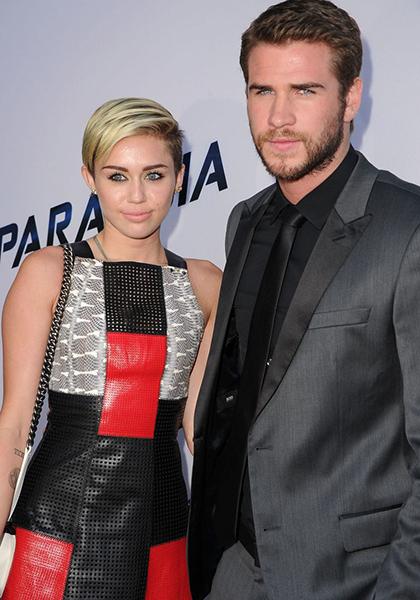 Khi tham gia sự kiện công chiếu phim Paranoia năm 2013, họ đi cùng nhau nhưng thể hiện như những người xa lạ. Chỉ sau đó một tháng, cả hai tuyên bố chia tay và hủy hôn ước.Trong quãng thời gian xa nhau, cả Miley và Liam đều từng tìm đến những người mới. Liam Hemsworth từng hẹn hò diễn viên Eiza Gonzalez, Nina Dobrev, Maika Monroe... Trong khi Miley cũng thử yêu nhà sản xuất Mike Will Made-It năm 2014, Patrick Schwarzenegger cuối năm 2014 tới đầu 2015, có mối tình đồng tính với Frankie Rayder, Stella Maxwell...