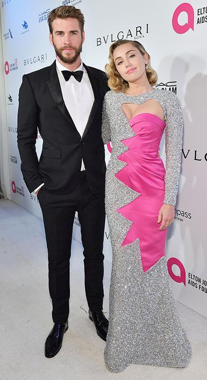 Cặp sao dự buổi tiệc từ thiện của Elton John sau lễ trao giải Oscar hồi tháng 3/2018.