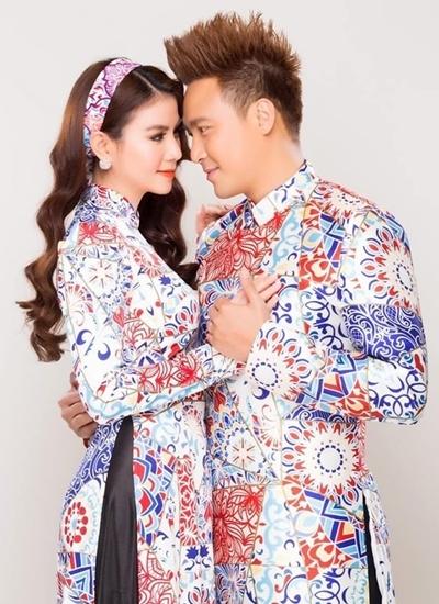 Vợ chồng Kha Ly - Thanh Duy.