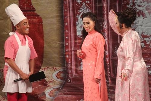Từ trái sang: Minh Nhí, Hồng Đào, Thanh Hằng.
