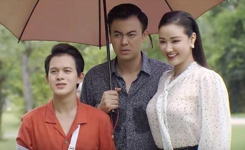 Từ trái sang: nhân vật Bảo, Quốc, Trang. Ảnh: VTV.