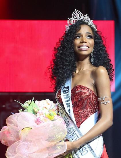 Tân Hoa hậu Cộng hòa Dominica - Clauvid Dály. Ảnh: Teleradio America.