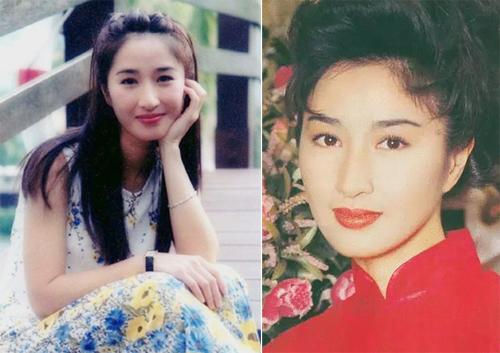 Nữ diễn viên thay đổi nhiều kiểu tóc, từ xoăn, ngắn tới ngang vai, uốn phồng...