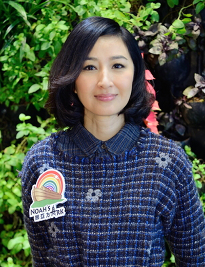Diễn viên tại một sự kiện từ thiện năm 2013. Trên On, cô nói sẽ quay lại đóng phim nếu gặp kịch bản hay.