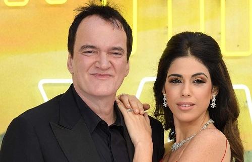 Quentin Tarantino và vợ - người mẫu Daniela Pick. Ảnh: Wired Image.