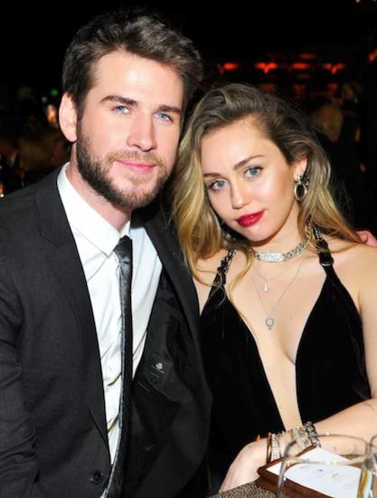 Chồng Liam Hemsworth đệ đơn ly dị Miley ngày 21/8. Ảnh: US Weekly.