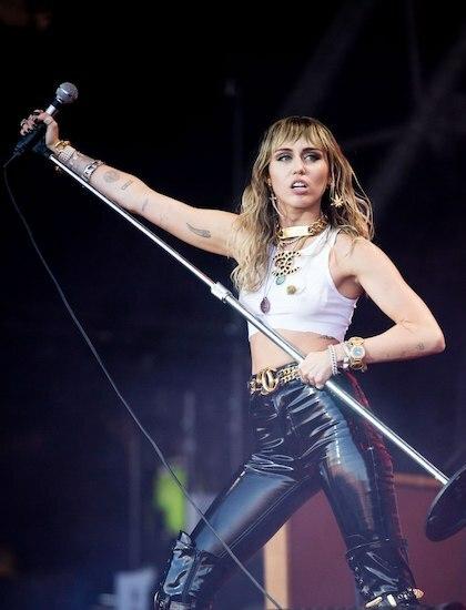 Ca sĩ Miley Cyrus. Ảnh: Wire Image.