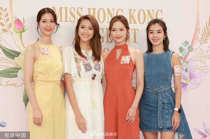 Dàn hoa hậu Hong Kong hội ngộ
