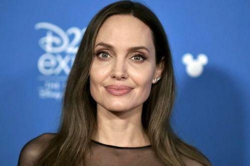 Angelina Jolie tại sự kiện EX32 của Disney. Ảnh: AP.