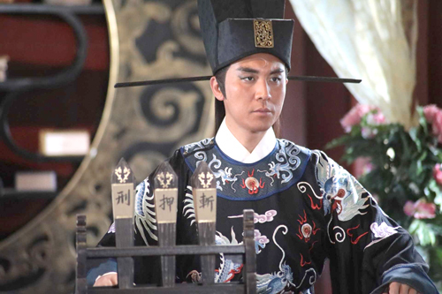 Tạo hình Bao Thanh Thiên của Đàm Tuấn Ngạn. Ảnh: