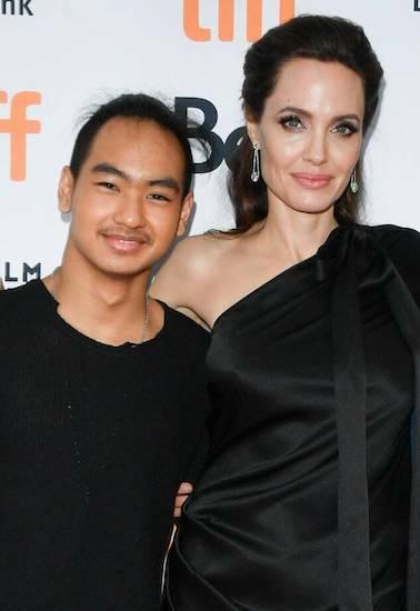Maddox - con trai cả của Angelina Jolie. Ảnh: Eonline.