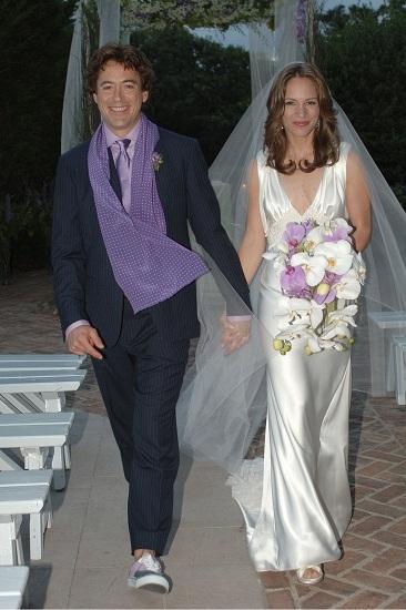 Robert Downey và Susan kết hôn năm 2005 tại New York (Mỹ). Ảnh: Pinterest.