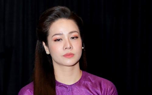 Diễn viên Nhật Kim Anh tại buổi ra mắt phim vào chiều 28/8 ở TP HCM. Ảnh: NKA.