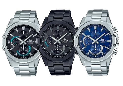Bộ 3 mẫu đồng hồ Edifice mới – EFR-S567.