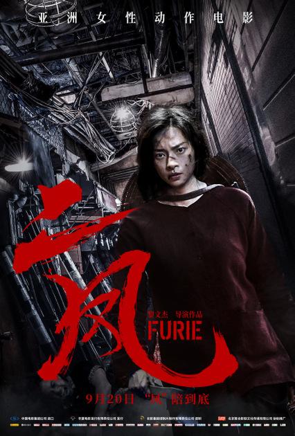 Poster phim Hai Phượng ở Trung Quốc.